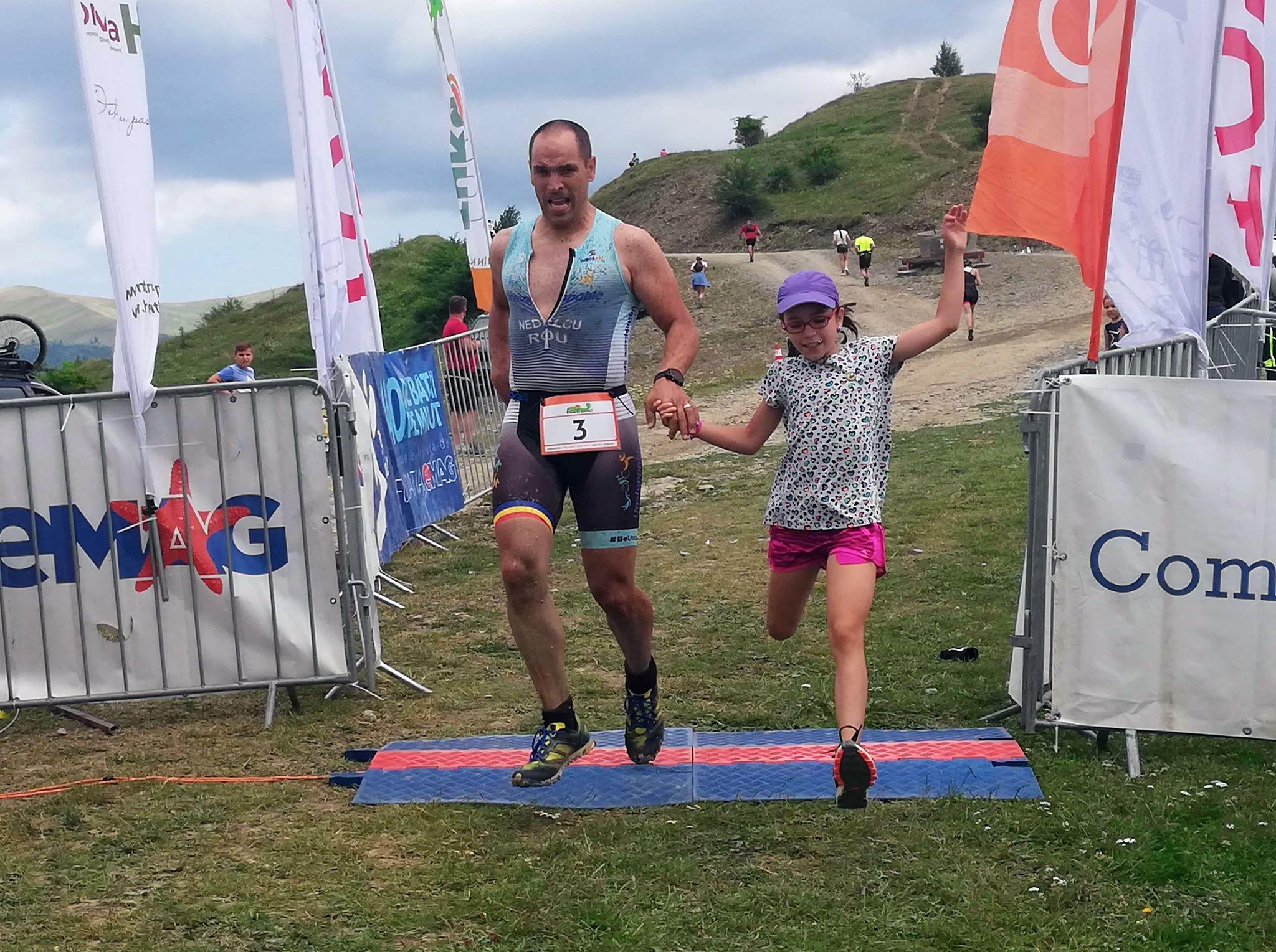 Fără Asfalt la Munte 2019 - finish Emilian Nedelcu