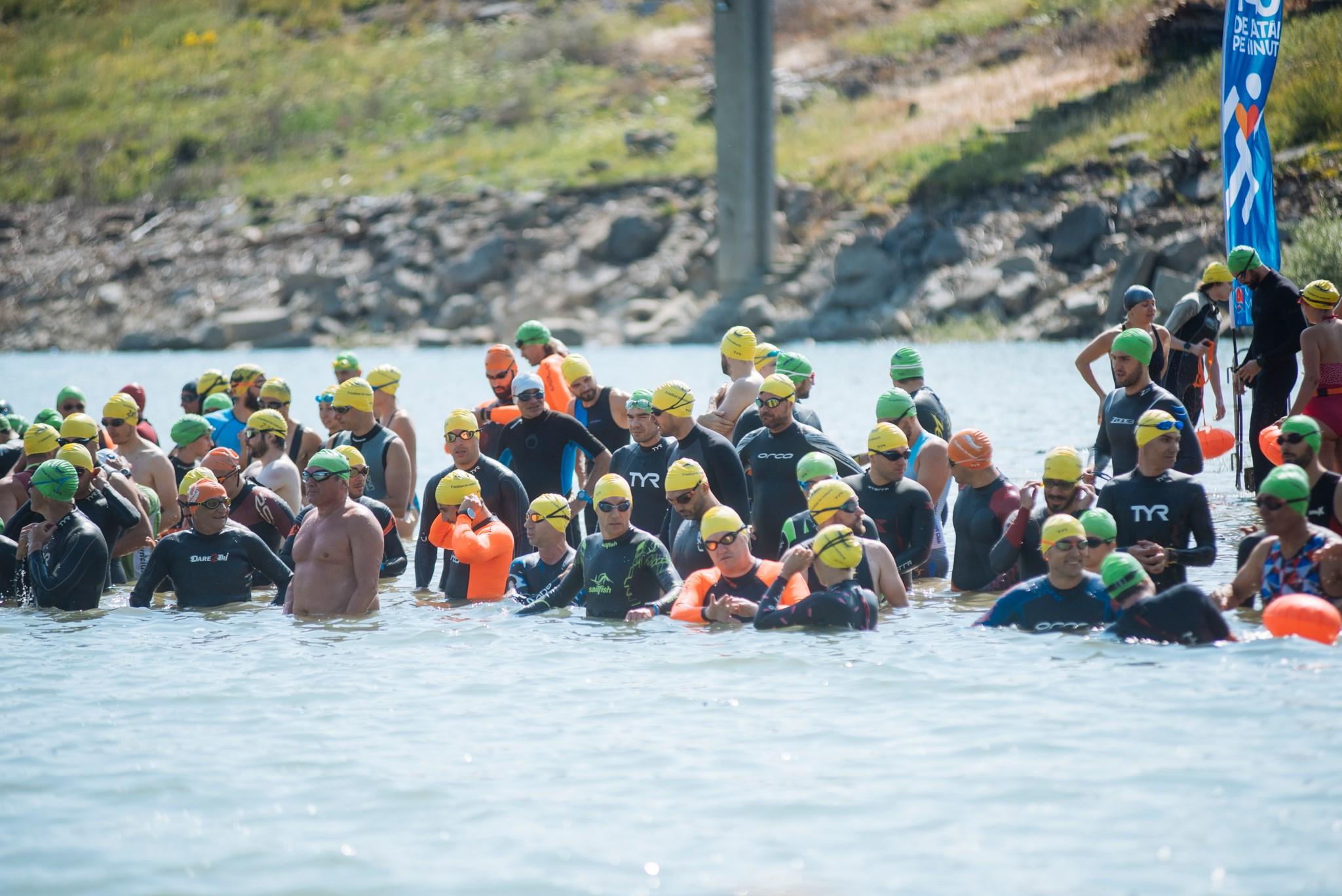 Fără Asfalt la Munte 2019 - start înot