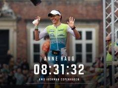 Anne Haug - castiga Ironman Copenhaga 2019