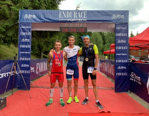 Podium triatlon Belis - proba Half - 2019