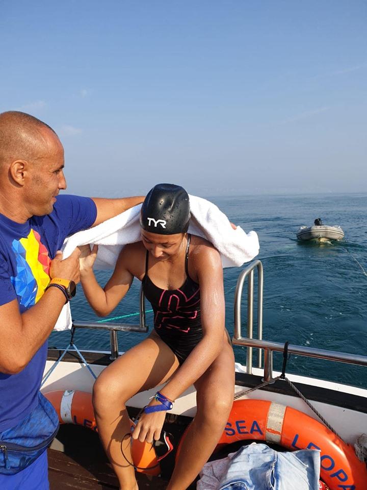 Ștafeta România - traversare Canalul Mânecii - Paul Georgescu help