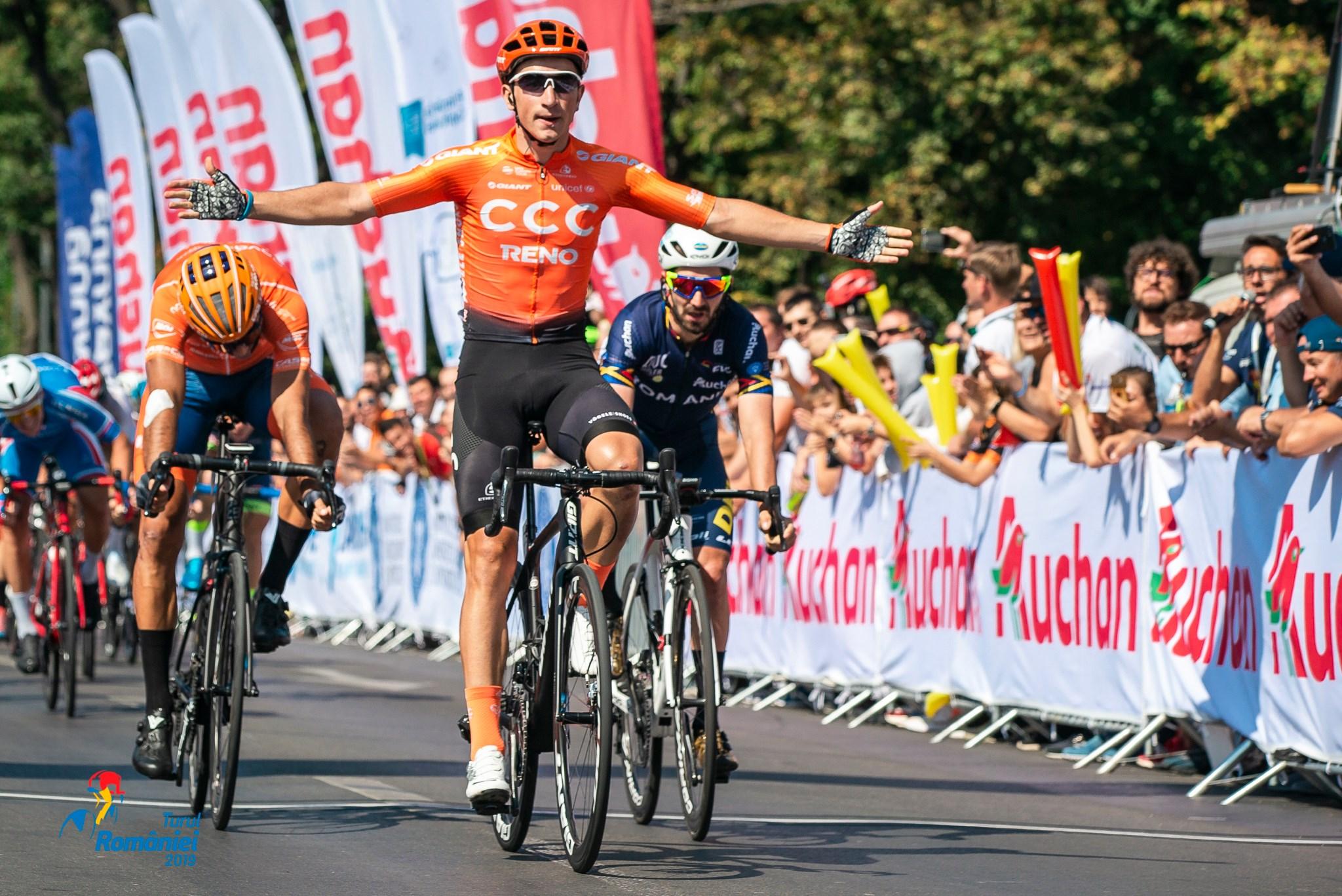 Turul României 2019 - etapa 5 - sprint finish
