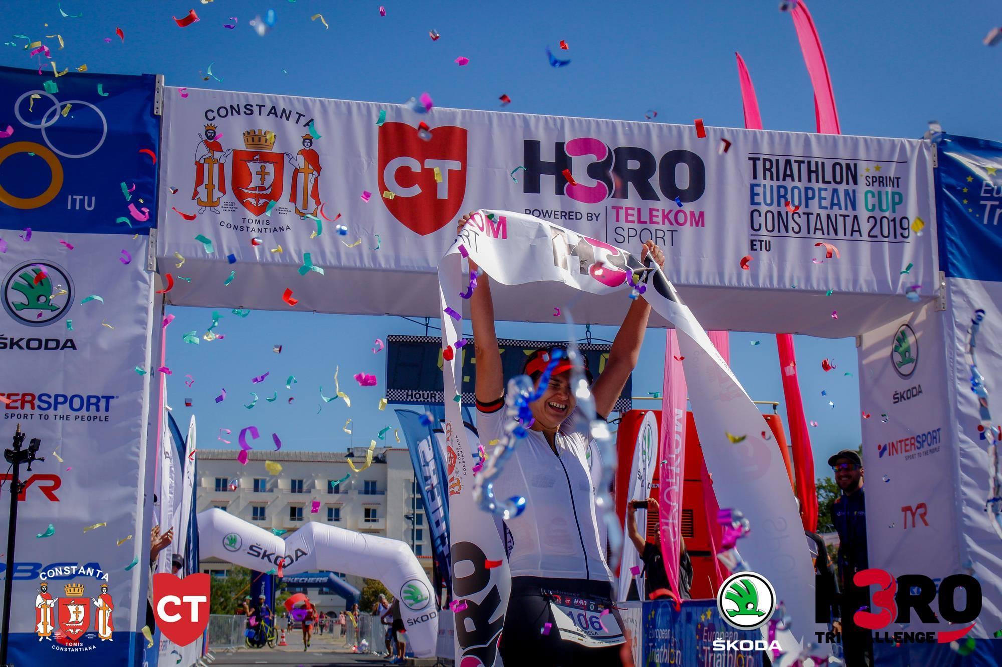 Andreea Calugaru - finish H3RO by TriChallenge 2019
