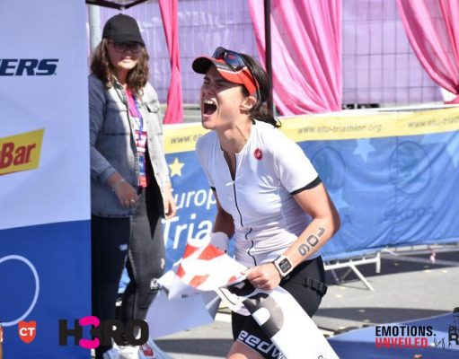Andreea Calugaru - H3RO by TriChallenge 2019 finish