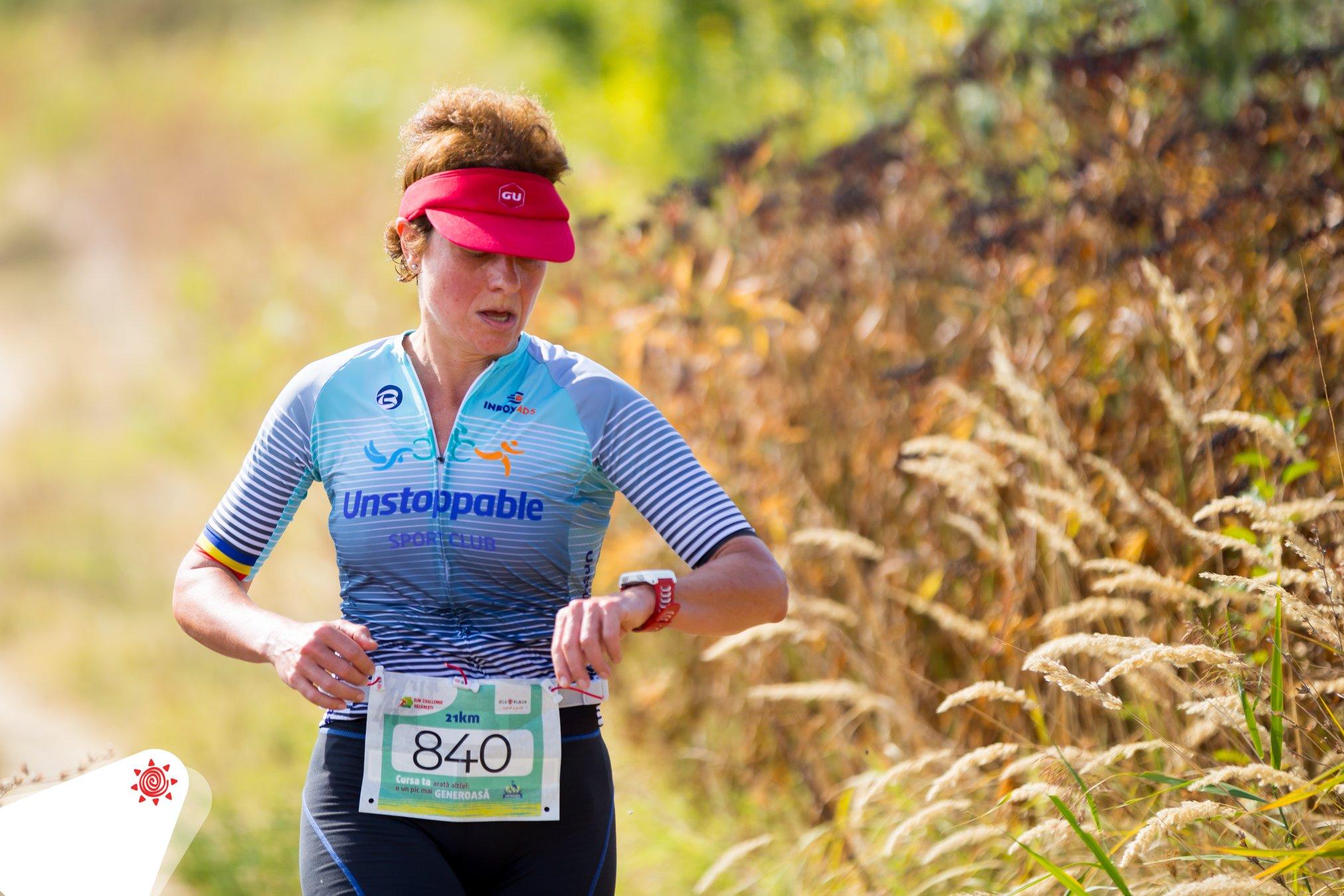 Mirela Popescu - concurs alergare