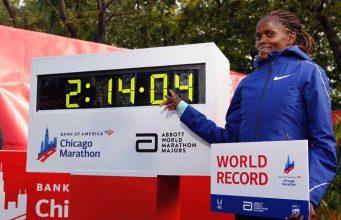 Brigid Kosgei - record mondial maraton Chicago 2019