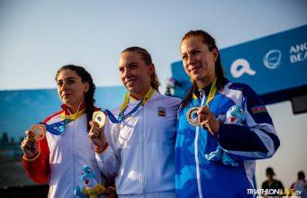 Antoanela Manac - bronz Jocurile Mondiale de Plaja 2019