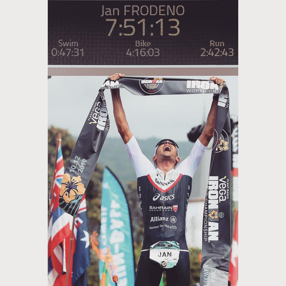 Jan Frodeno - Ironman Kona 2019 campion