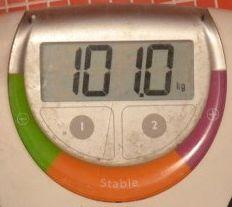 Jurnal de slabit - greutate ianuarie 2012