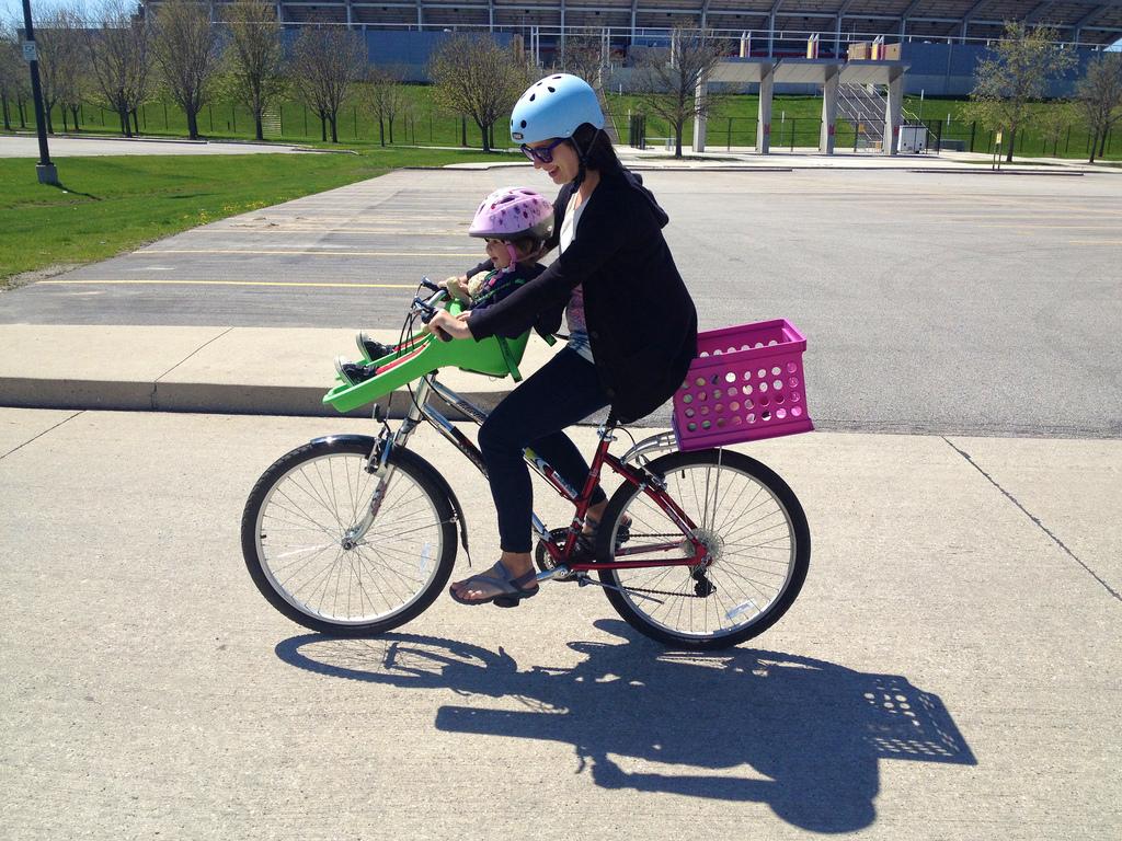 Scaun de bicicletă pentru copii - ghidon