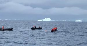 Paul Georgescu - inot Antarctica