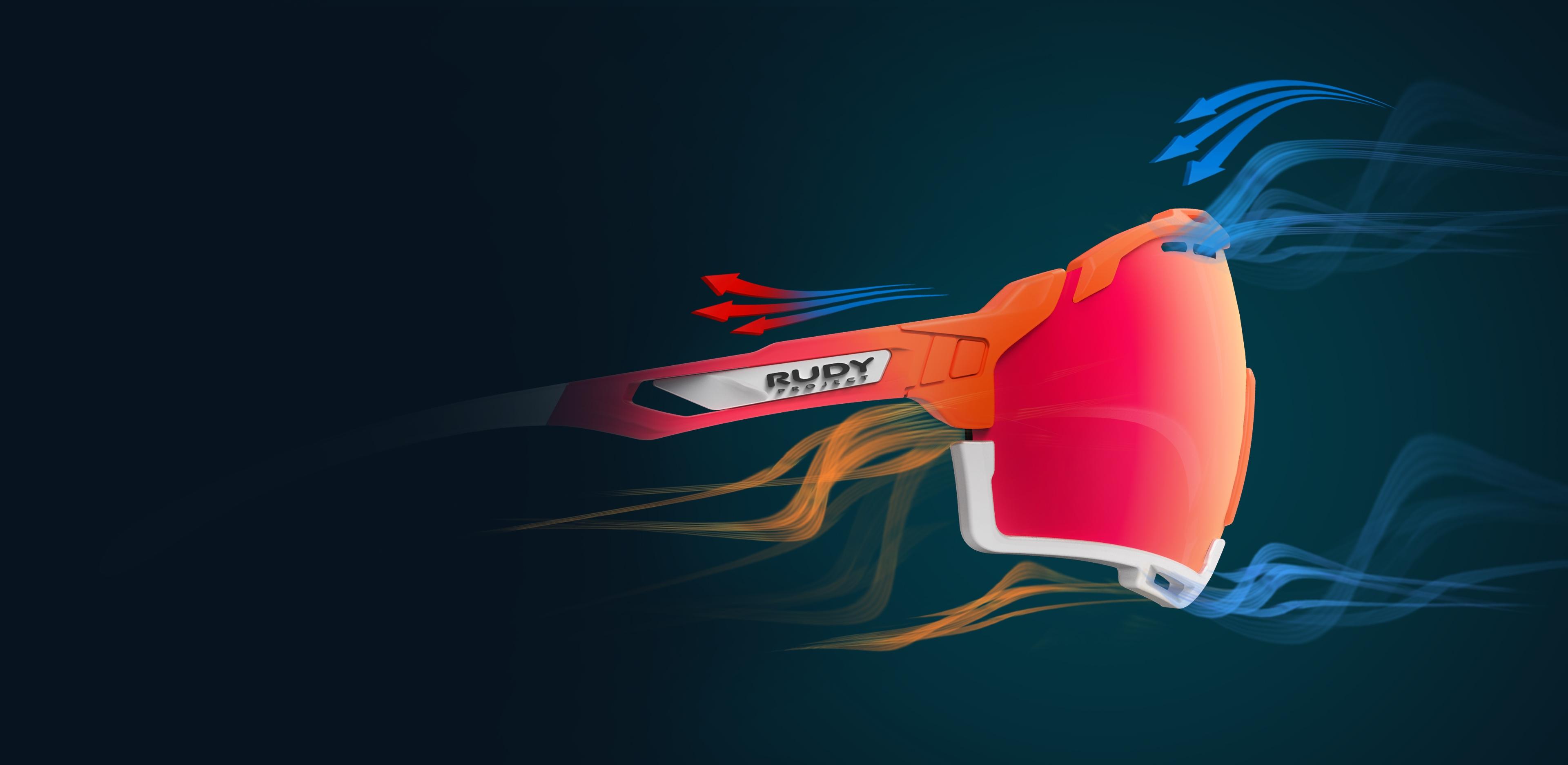 Aerisire ochelari sport Cutline - Rudy Project