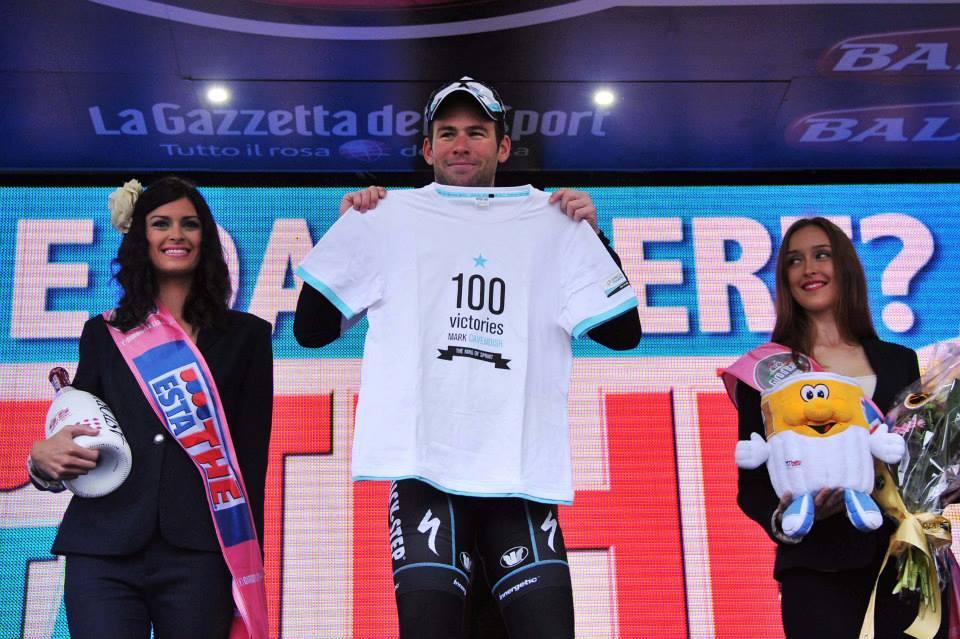 Giro d'Italia 2013 - Mark Cavendish victoria 100