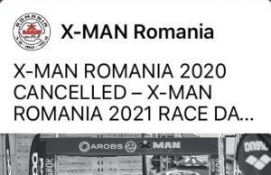 XMAN Romania amanat pentru 2021