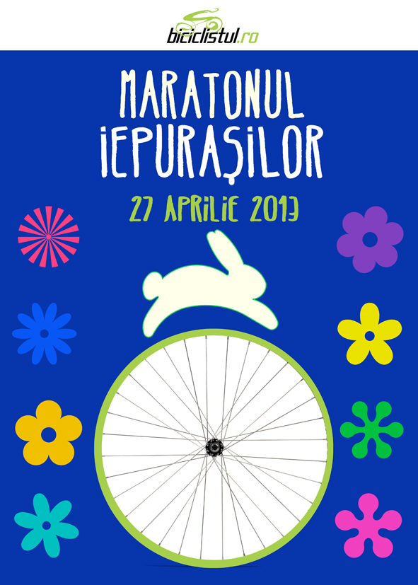 Maratonul Iepurasilor - afis web