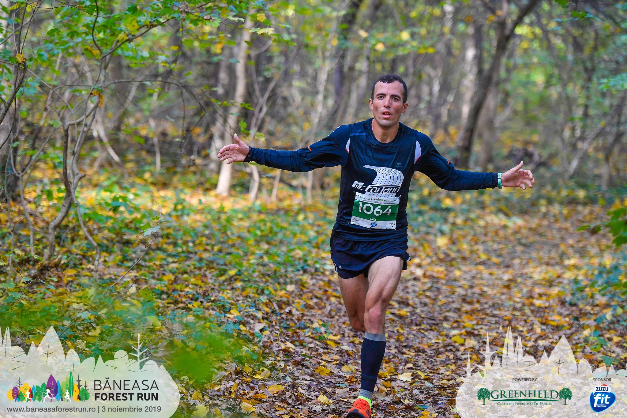 Gheorghe Nicolae - Baneasa Forest Run 2019 semimaraton