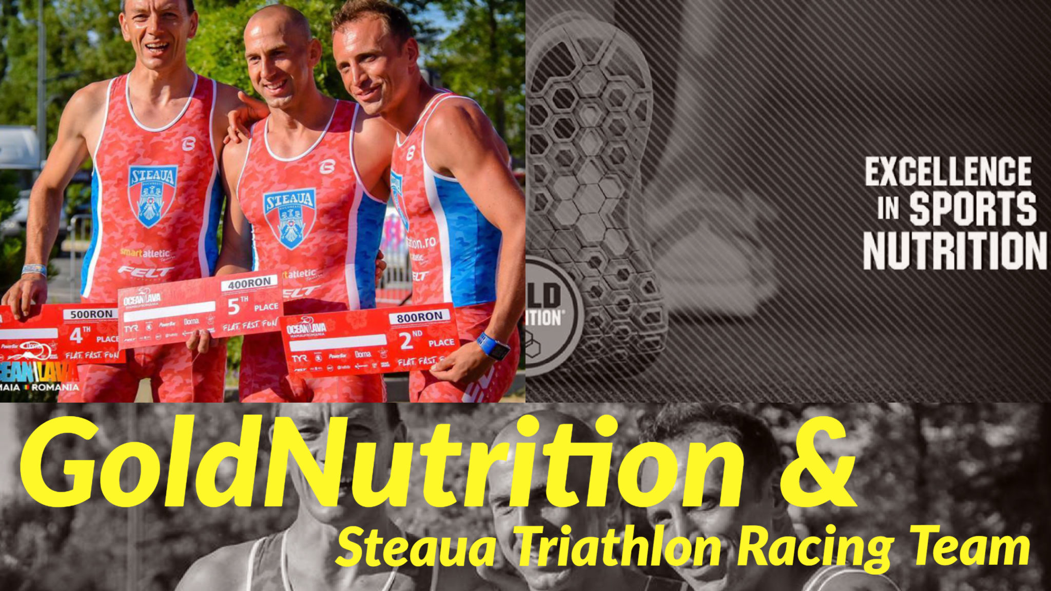 GoldNutrition sponsor Steaua Triathlon Racing Team