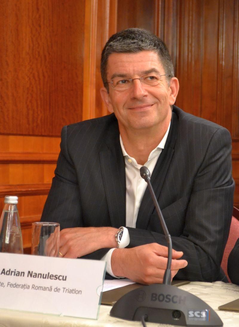 Adrian Nanulescu - presedinte Federatia Romana de Triatlon