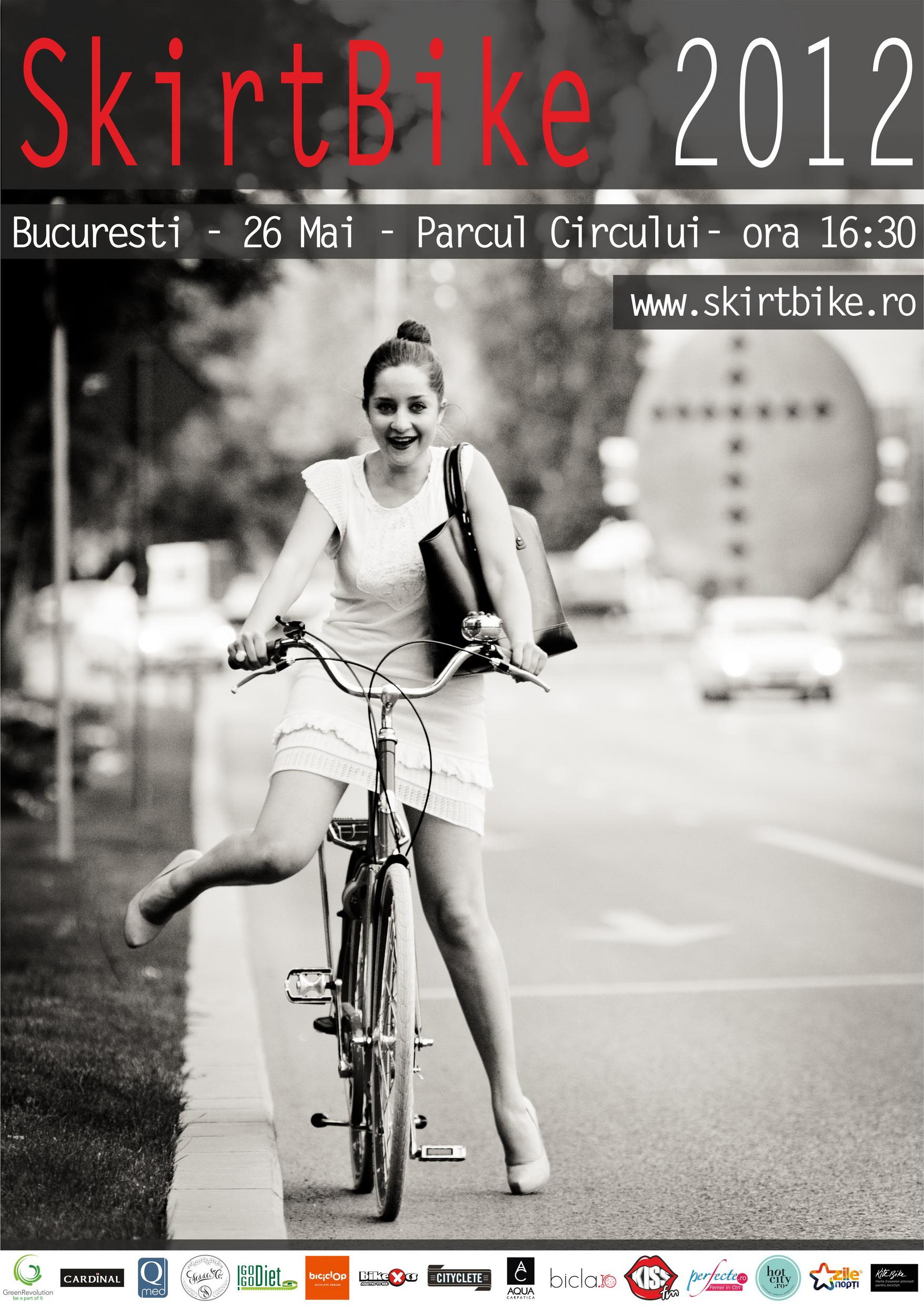 Afis-SkirtBike-2012-Bucuresti