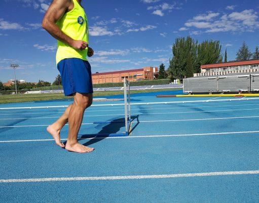 Alergare in picioarele goale