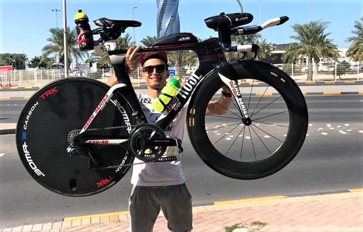 Alex Toma - Ironman 70 3 Bahrain 2018