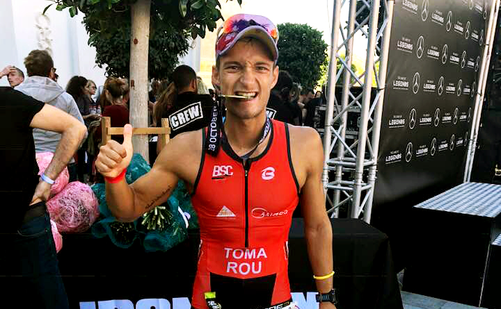 Alex Toma - Ironman 70.3 Turcia 2018