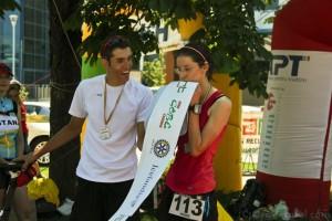 Alexandru Diaconu - Laura Baciu - Ironman Oradea 2012 - finish