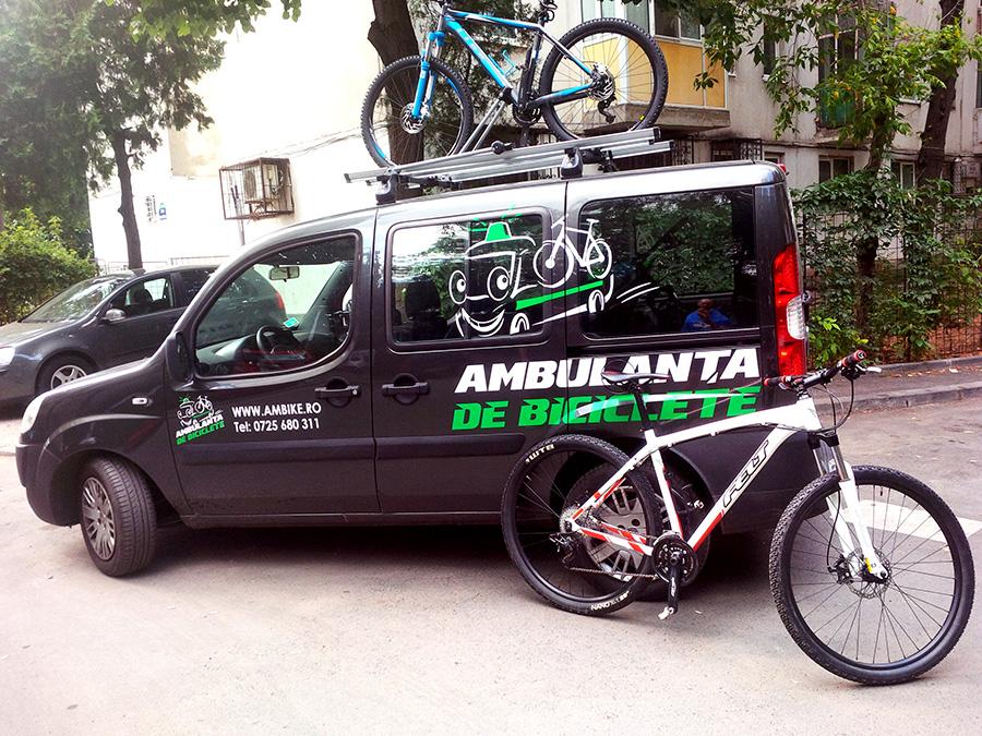 Ambulanta de Biciclete - comanda online revizia sau reparatia bicicletei