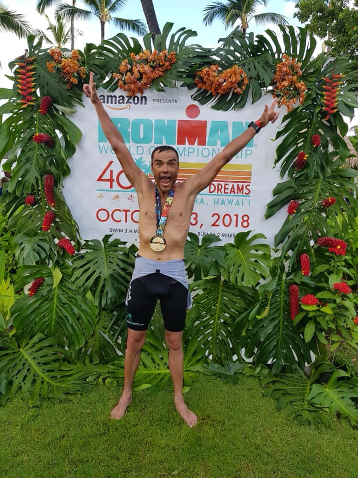 Andrei Dudu - Ironman Kona 2018 - medalie