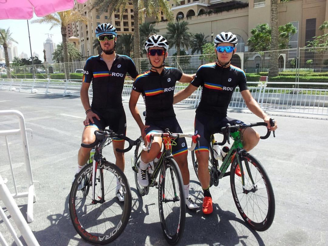 Andrei Nechita in echipa Romaniei la Campionatul Mondial de CIclism 2016, Doha