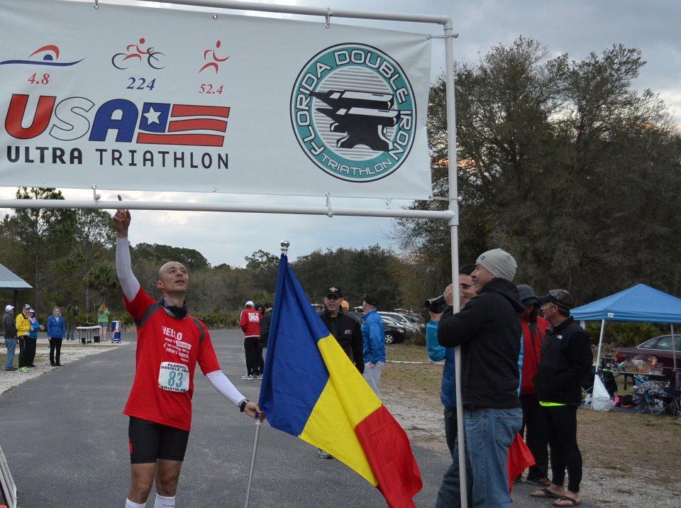 Andrei Rosu termina Double Ironman Florida