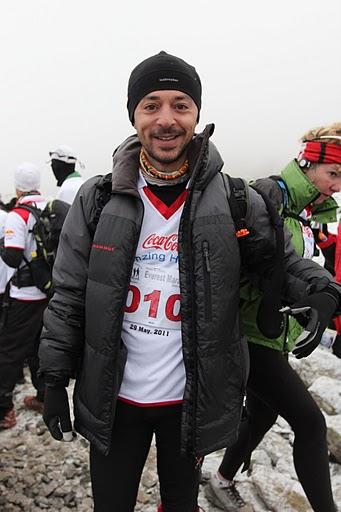 Andrei Rosu, la Everest Eco Marathon 2011