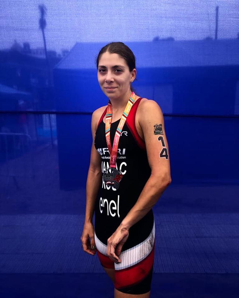 Antoanela Manac - finisher cupa mondiala Lima 2019