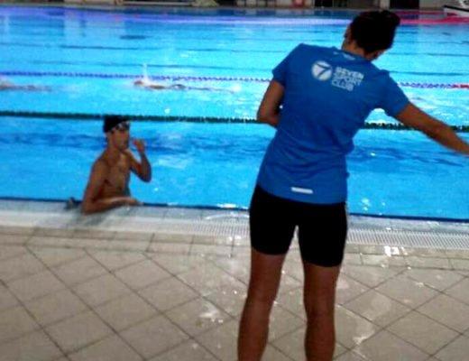 Antrenament inot - Seven Sport Club