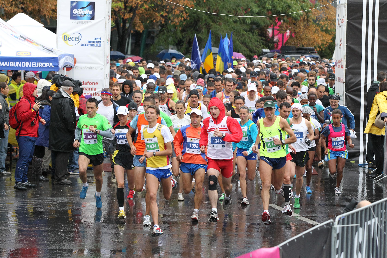 Primul maraton - Maratonul International Bucuresti