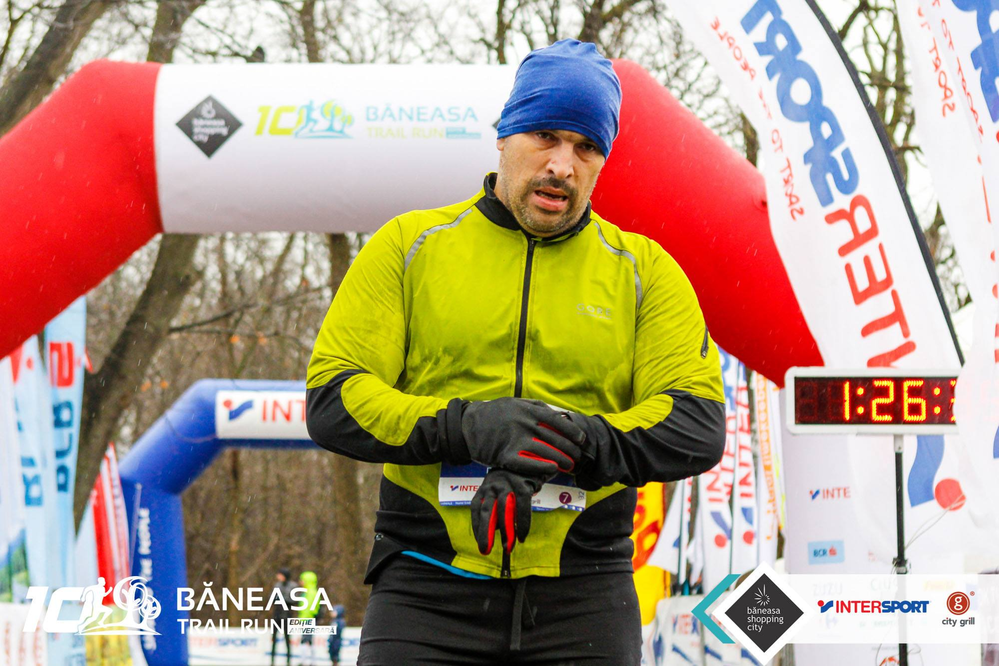 Baneasa Trail Run - decembrie 2017