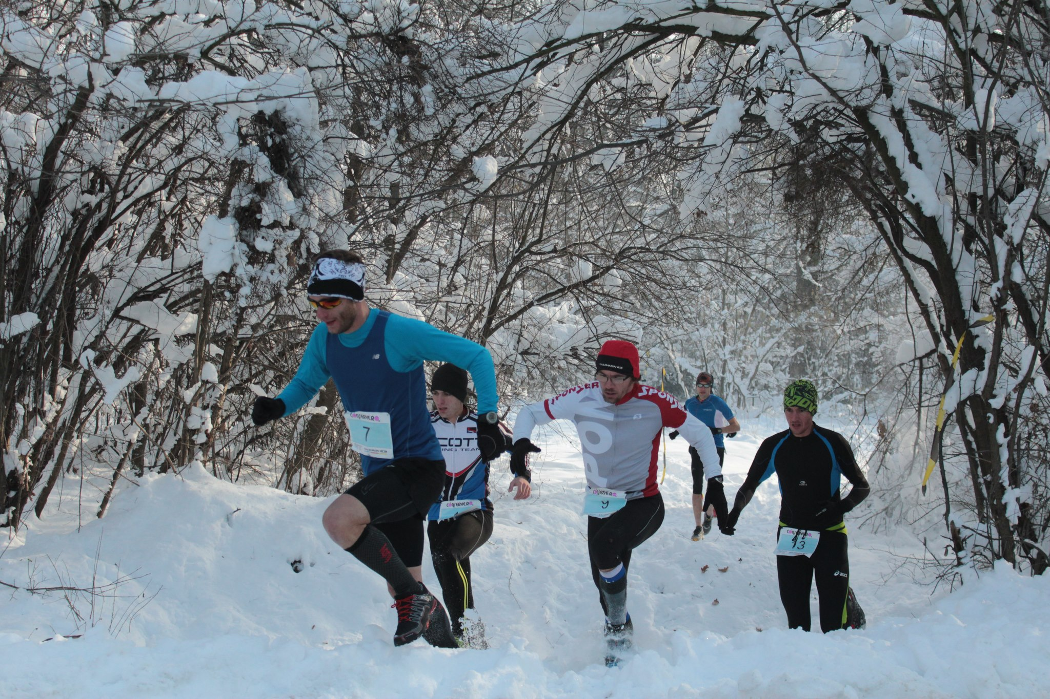 Baneasa Trail Run in 2012