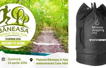 Baneasa Trail Run - kit participare sac