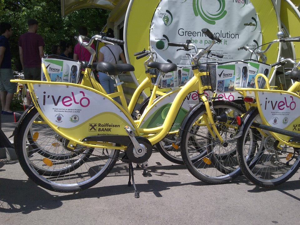 Bicicleta I love velo