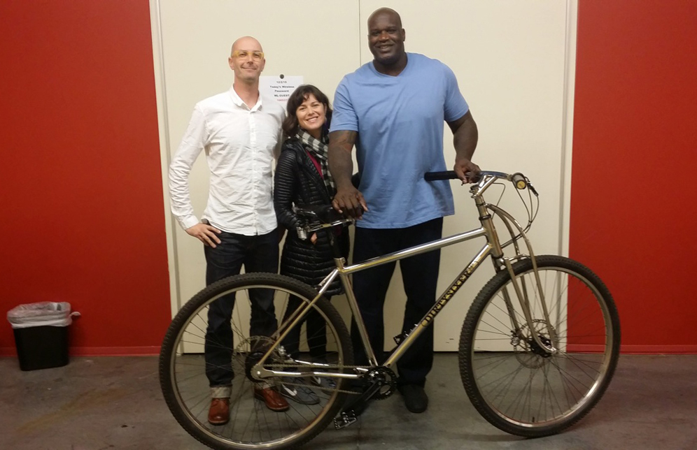 Bicicleta lui Shaquille ONeal
