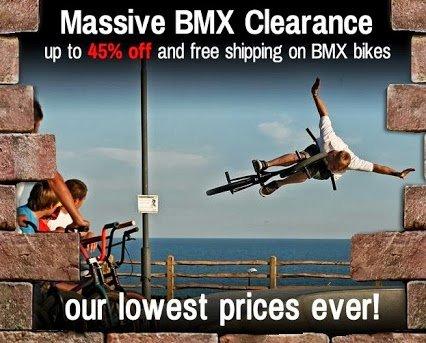 Biciclete BMX - reduceri Chain Reaction Cycles
