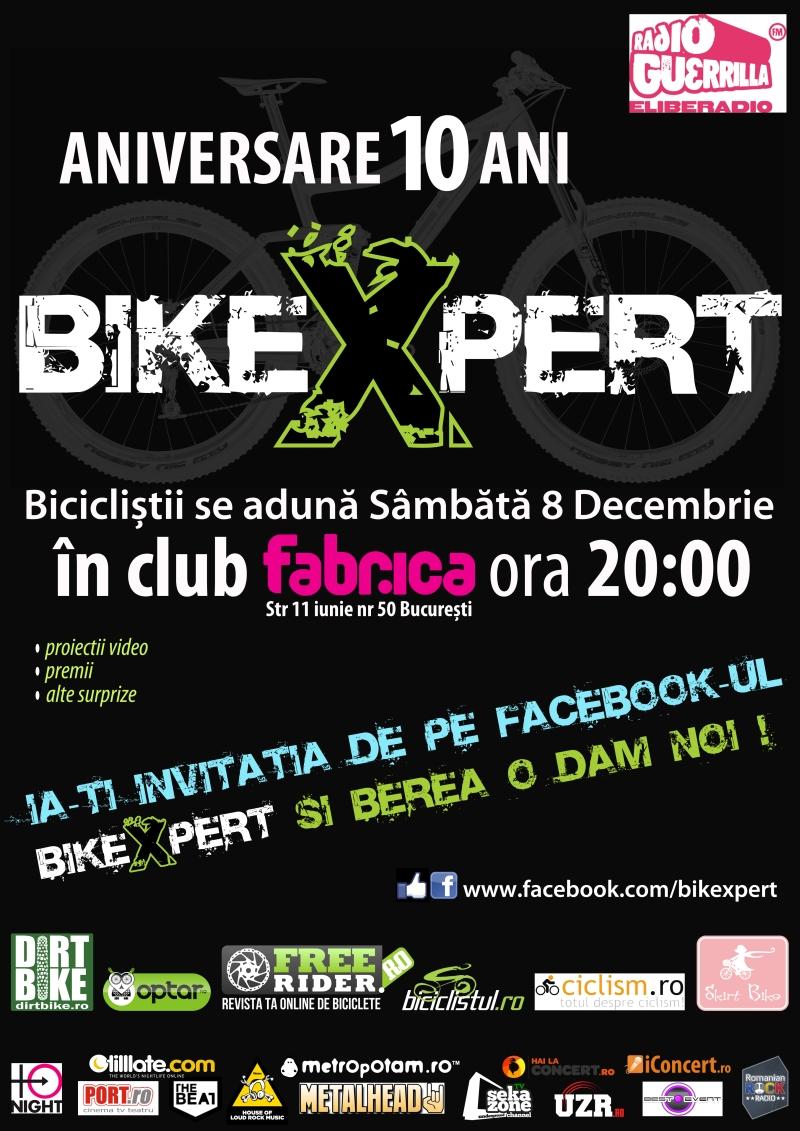 BikeXpert - petrecere 10 ani