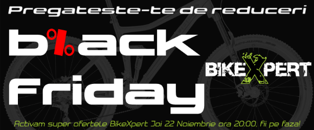 Black Friday 2012 - reduceri BikeXpert