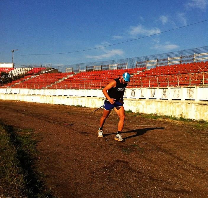 Bogdan Chiorean - sprint cu 50 kg