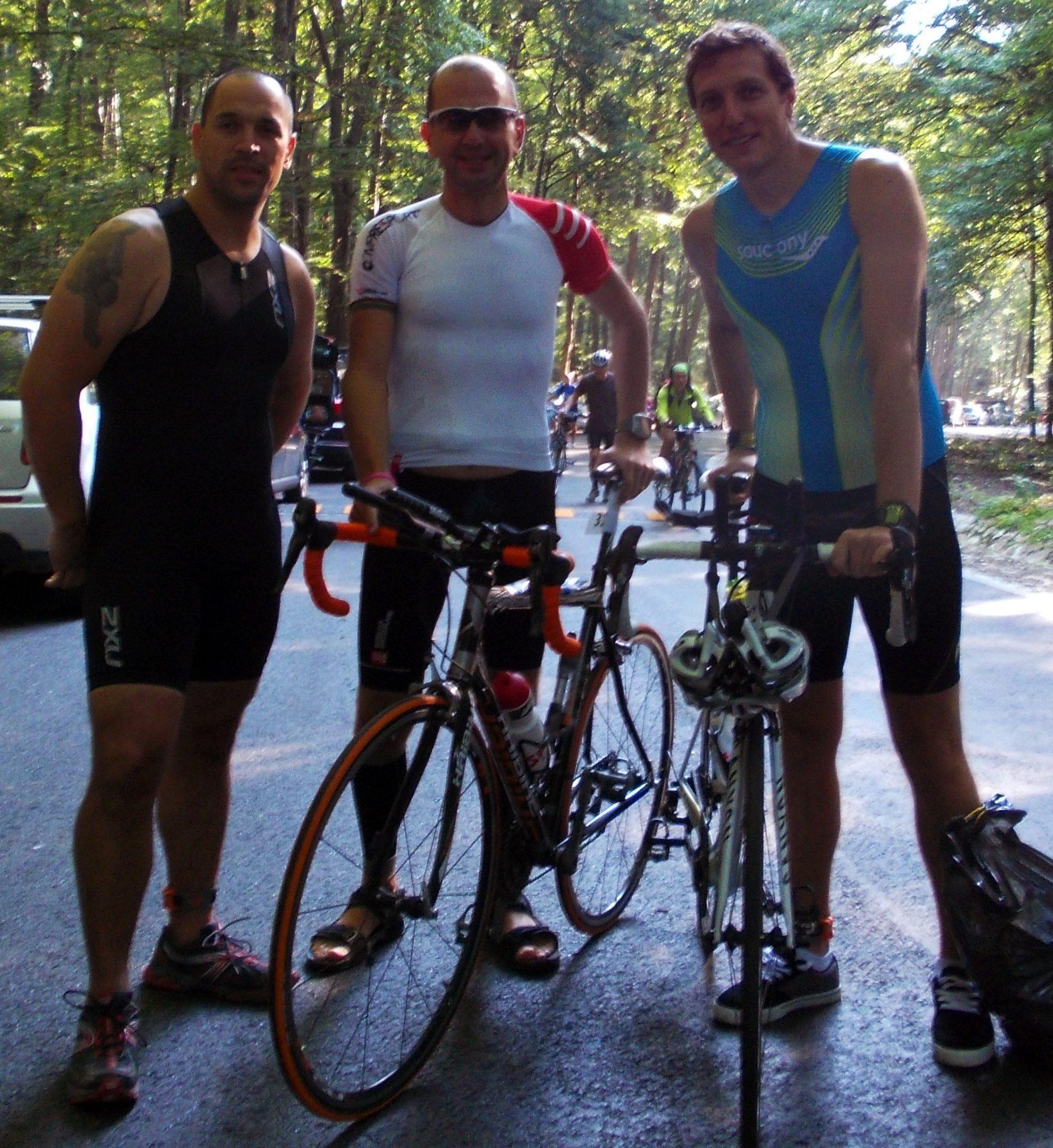 Brasov Triathlon - Inainte de start