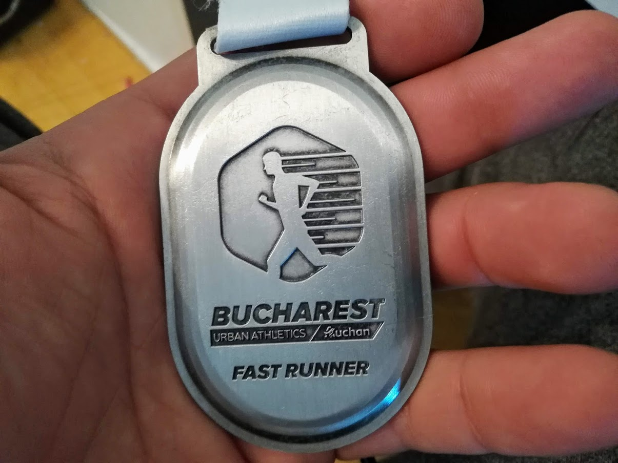Bucharest Urban Athletic - medalia - fast runner