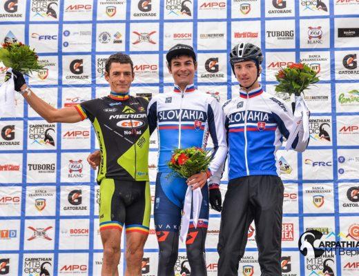 CARPATHIAN MTB EPIC 2017 - podium etapa 1