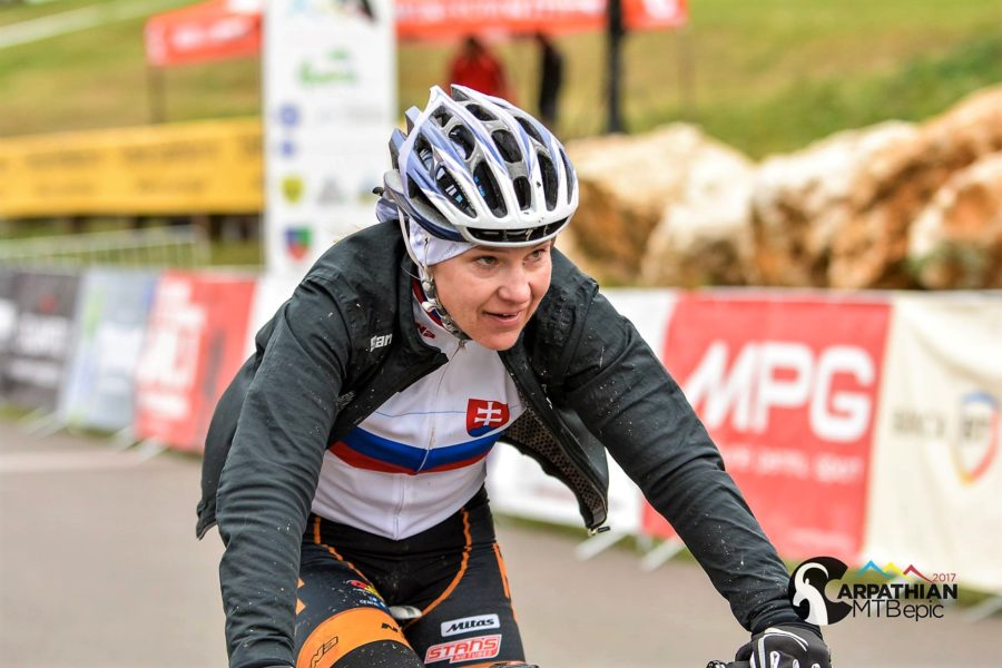 CARPATHIAN MTB EPIC 2017 - castigatoare etapa 1 - Janka Keseg Stevkova