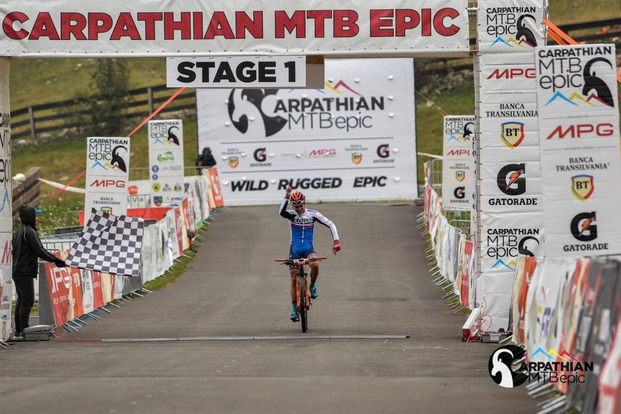 CARPATHIAN MTB EPIC 2017 - castigator etapa 1 - Tomas Visnovsky