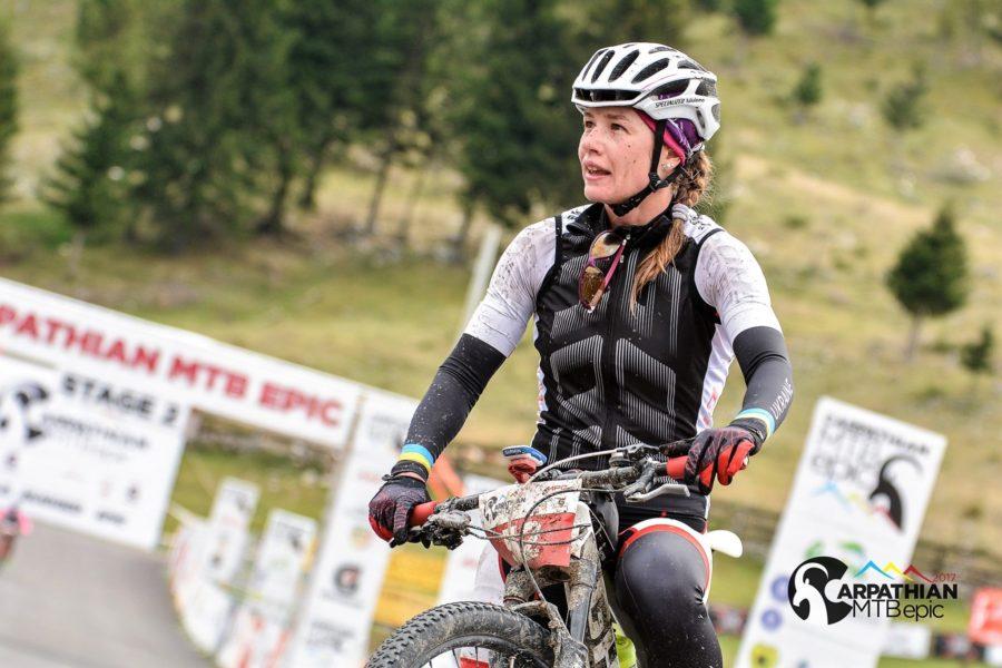 Carpathian MTB Epic - Krystyna Konvisarova, locul 1 etapa 2 -